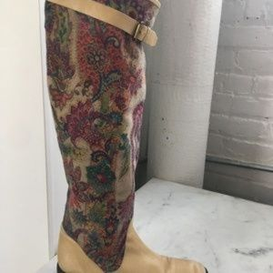 Reed Evins Shoes - Reed Evins Colorful Riding Boots size 7